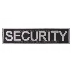 Targhetta Ricamata SECURITY