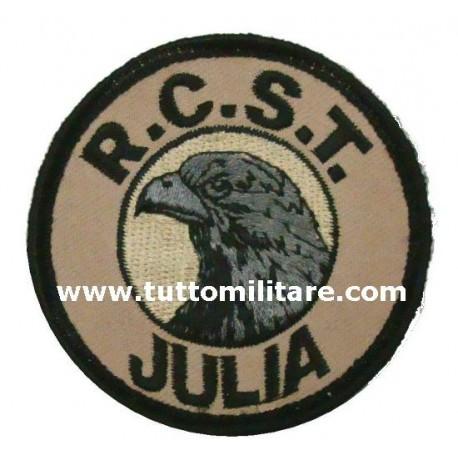 Scudetto Ricamato Omerale Alpini RCST Julia