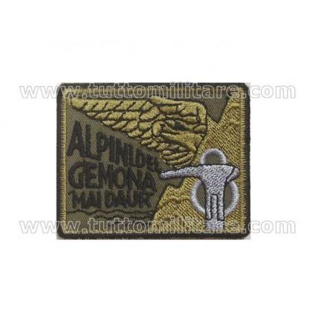 Scudetto Battaglione Alpini Gemona Mai d'Aur