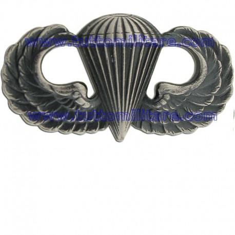 Brevetto Metallo Paracadutisti Base USA