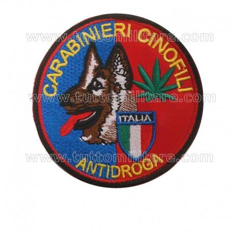 Scudetto Carabinieri Cinofili Antidroga