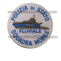 Toppa Polizia di Stato Squadra Mobile Fluviale