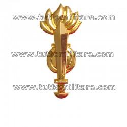 Distintivo Metallo Dorato Genio Guastatori