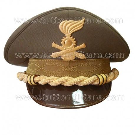 Berretto Tenente Colonnello Artiglieria Corazzata