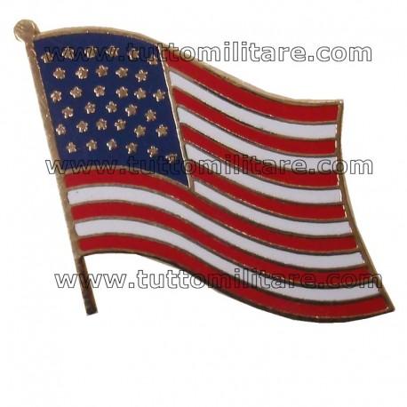 Pin Bandiera USA