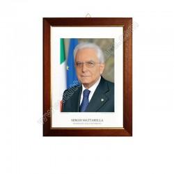 Quadro Presidente della Repubblica Mattarella Sergio