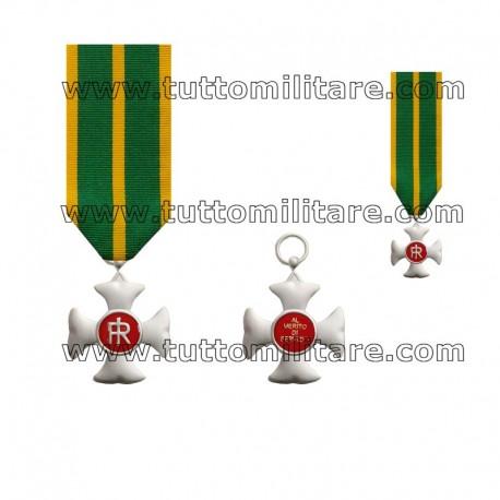 Croce Anzianità Servizio 16 Anni Guardia di Finanza