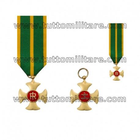 Croce Anzianità Servizio 25 Anni Guardia di Finanza