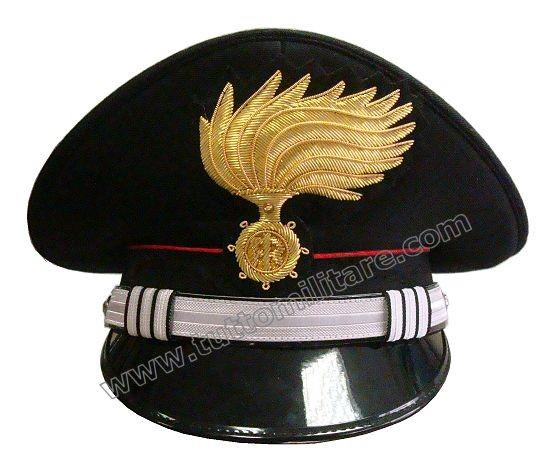 bfd420f515a Berretto Capitano Arma Carabinieri