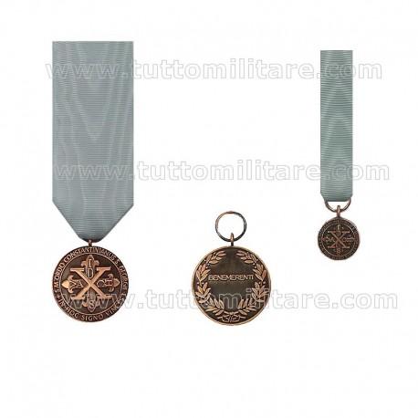 Medaglia Bronzo Ordine Costantiniano San Giorgio