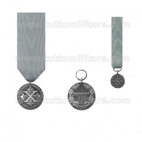Medaglia di Benemerenza Argento OCSG