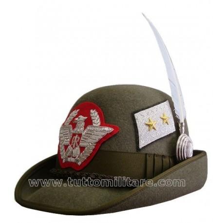 Cappello Alpino Generale di Divisione Alpina
