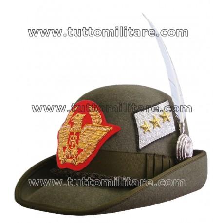Cappello Alpino Generale di Corpo d'Armata