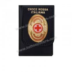 Portafogli Croce Rossa Italiana Convenzione di Ginevra