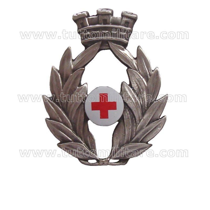Fregio Basco Ufficiale Corpo Militare Croce Rossa b4de0bfdb37f