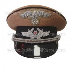 Berretto Militaria Ufficiale Corpo Diplomatico Tedesco