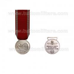 Medaglia Merito Lunga Attività Paracadutismo 15 Anni Argento