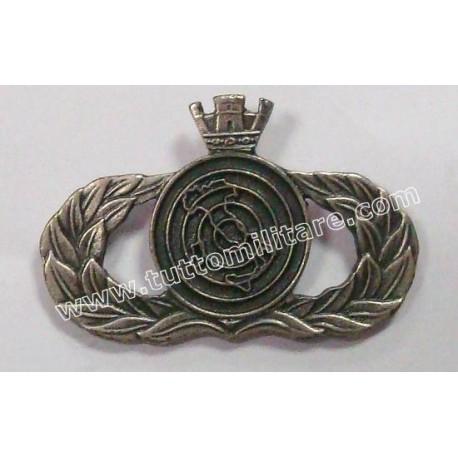 Distintivo Metallo Controllore Spazio Aereo