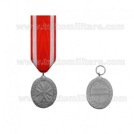 Medaglia Pro Merito Melitensi Argento con Spade