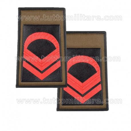 Tubolari Caporal Maggiore Scelto Esercito