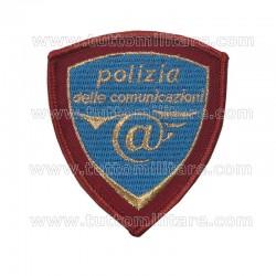 Scudetto da Braccio Polizia Postale e delle Comunicazioni