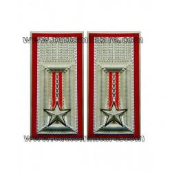 Alamari in Metallo per Camicia Ufficiali Carabinieri