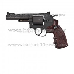 Pistola Softair Revolver Magnum 4 Pollici CO2