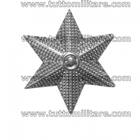Stella Militare Argento a 6 Punte