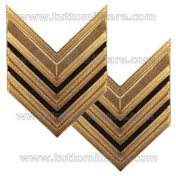 Gradi Metallo Sergente Maggiore Esercito