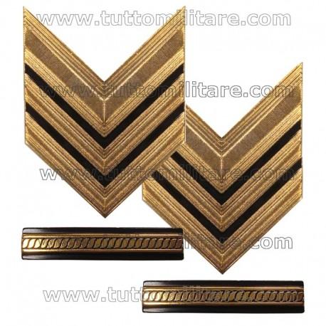 Gradi Metallo Sergente Maggiore Capo Esercito