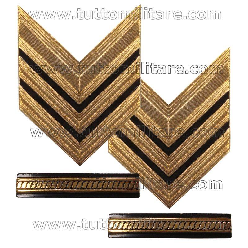 Gradi Metallo Sergente Maggiore Capo Esercito aacdf83b4d7b