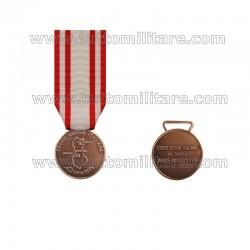 Medaglia Arcobaleno Albania CRI 1999