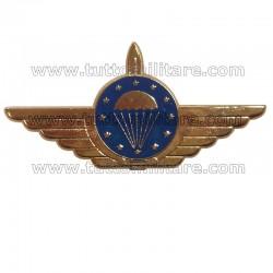 Brevetto Metallo Paracadutisti Unione Europea