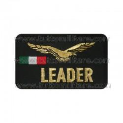 Targhetta Ricamata Leader Aeronautica