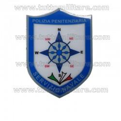 Scudetto Gommato Servizio Navale Polizia Penitenziaria