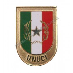 Distintivo Metallo UNUCI per Uniforme Ordinaria