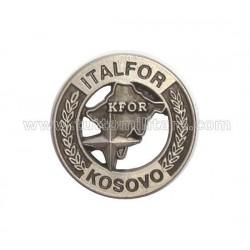 Distintivo Missione KFor Kosovo Nato Italfor