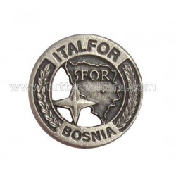 Distintivo Ricordo SFOR Bosnia Nato