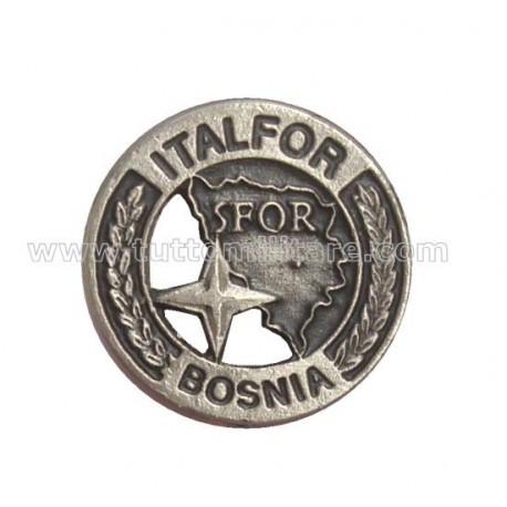 Distintivo Ricordo SFOR Bosnia Nato