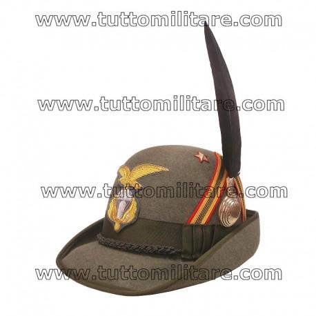 Cappello Alpino Luogotenente Paracadutisti Alpini