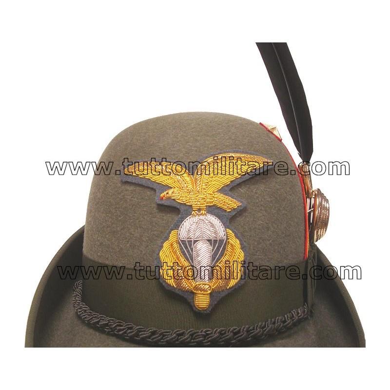 Cappello Alpino Luogotenente Paracadutisti Alpini a841d808c1a2