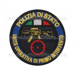 Scudetto Unità Operativa di Primo Intervento Polizia di Stato