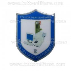 Scudetto Specialista Informatico Polizia Penitenziaria