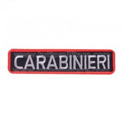 Targhetta Ricamata Carabinieri Tuta OP