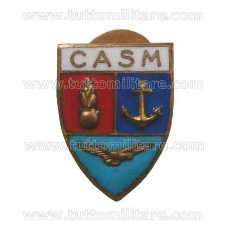 Distintivo Metallo CASM Centro Alti Studi Militari