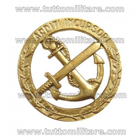 Fregio Metallo Arditi Incusori Marina Militare