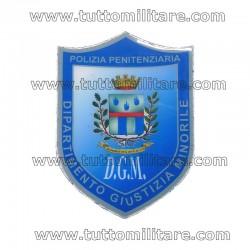 Scudetto Dipartimento Giustizia Minorile Polizia Penitenziaria