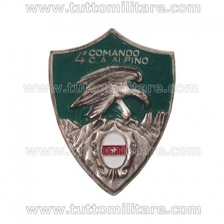 Distintivo 4° Corpo d'Armata Alpino
