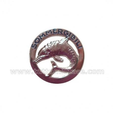 Distintivo Metallo Sommergibilisti Marinaio
