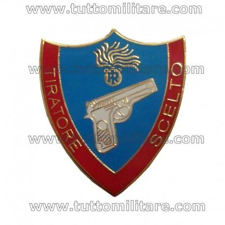 Distintivo Metallo Tiratore Scelto Carabinieri